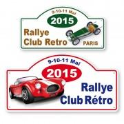 Plaque RALLYE AUTO - MOTO - VELO - VTT